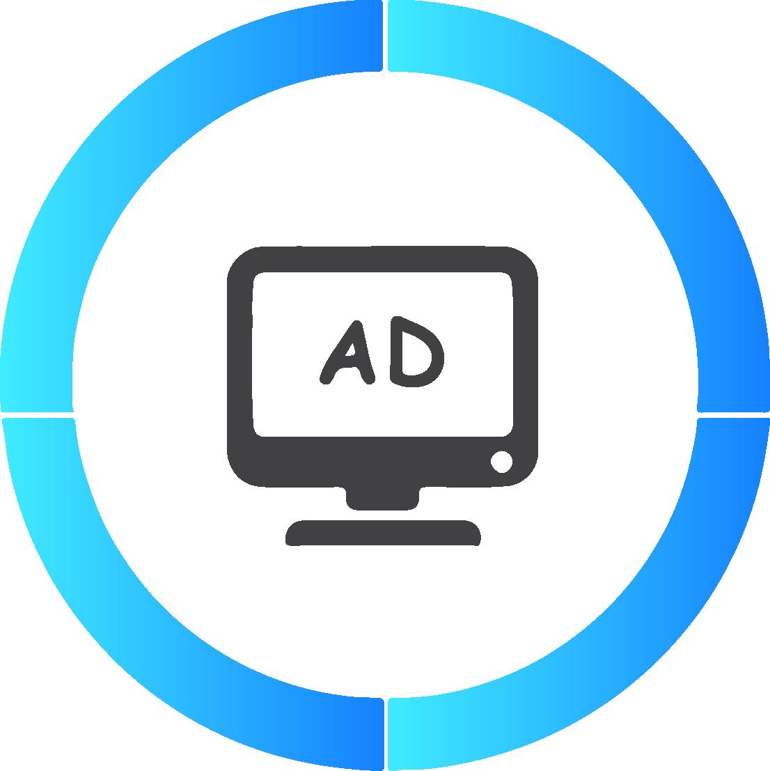 Nessuna pubblicità sarà presente sulla tua app